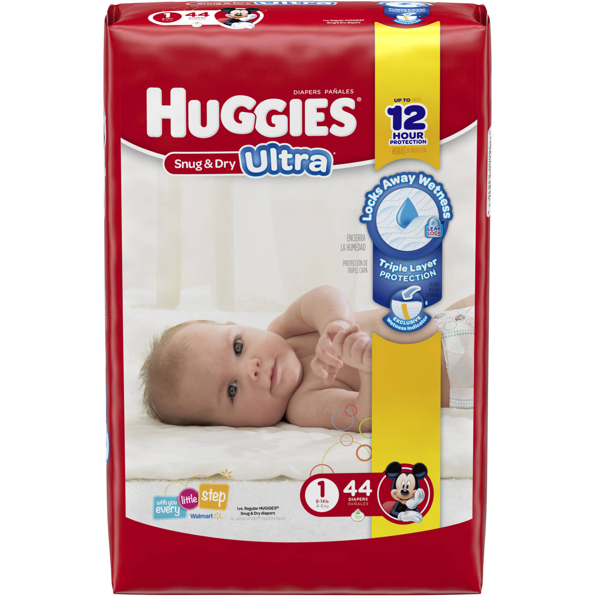 Huggies Little Movers Diapers Size 3 174 Ct
