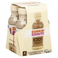 Dunkin' Donuts Iced Coffee & Milk Beverage Vanilla, 9.4 FL OZ