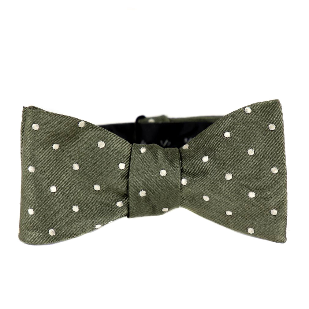 BuyYourTies - FBTZ-473 - Mens Aficionado Self Tie Bow Tie - Green
