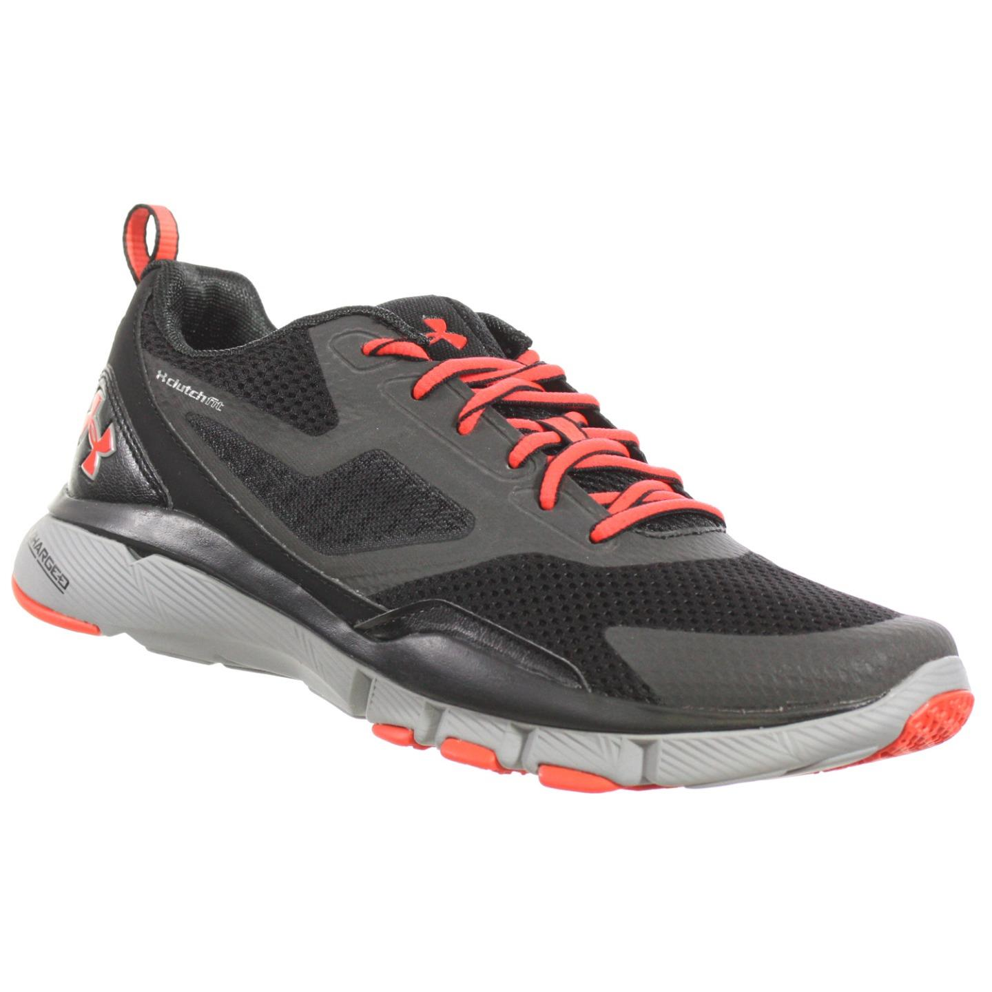 Under Armour MENS ATHLETIC SHOES CHARGED ONE TR CHARCOAL ...