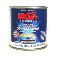 True Value Mfg Company 6 Packs WXO 1/2PT BRN WB Enamel