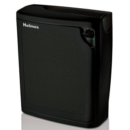 Holmes Allergen Hepa Large Console Black