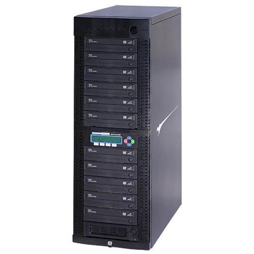 Kanguru NET-DVDDUPE-S11 1:11 Standalone CD DVD Duplicator Standalone DVD-ROM, DVD-Writer 24x DVD-R, 24x DVD+R,... by Kanguru Solutions