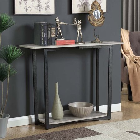 Convenience Concepts Graystone Console Table in Faux Birch - image 3 of 3