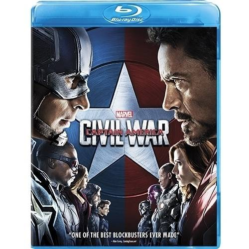 Click here to buy Captain America: Civil War (Blu-ray) by Buena Vista.