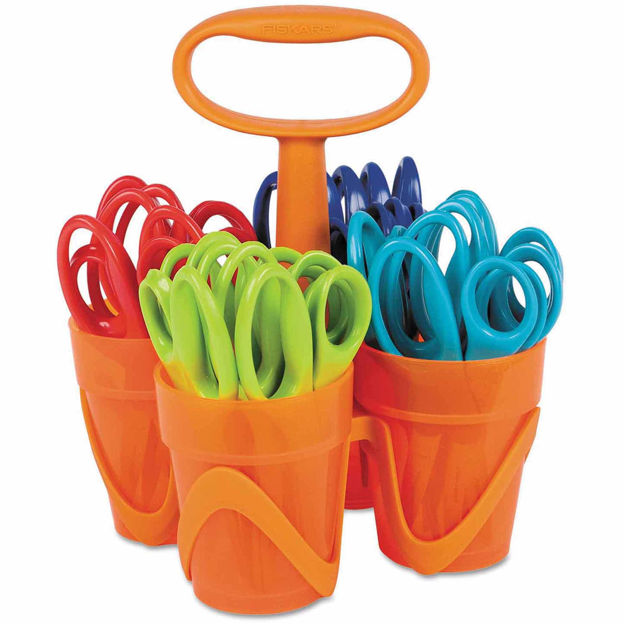 """Fiskars 5"""" Scissors Classpack, Blunt Tip, Assorted"""