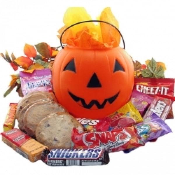 Halloween Snack O Lantern Pumpkin 6 Gourmet Cookies by