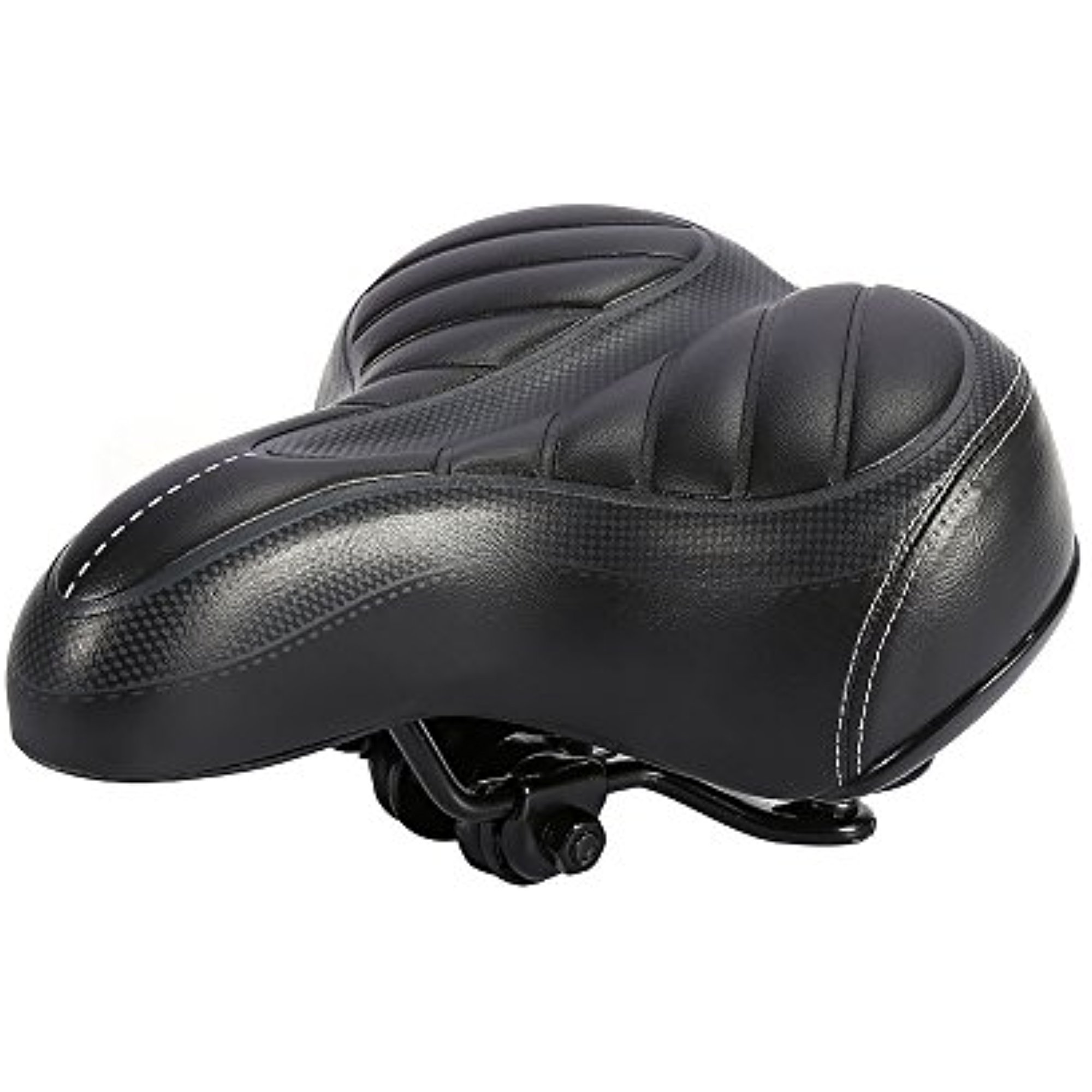 Estink Bike Saddle Seat Cushion,Outdoor Wide Big Bum Sprung Men Bike Bicycle Gel Cushion Comfort Saddle Seat