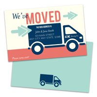 Personalized Moving Truck Moving Announcements
