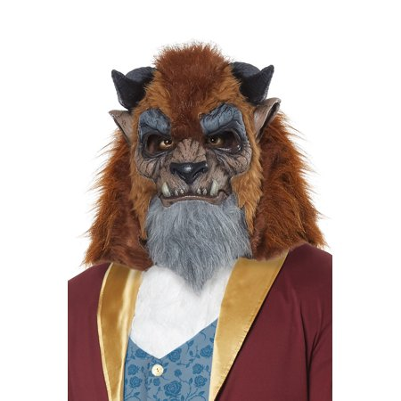 Storybook Beast Mask - Brown Wolf Mask