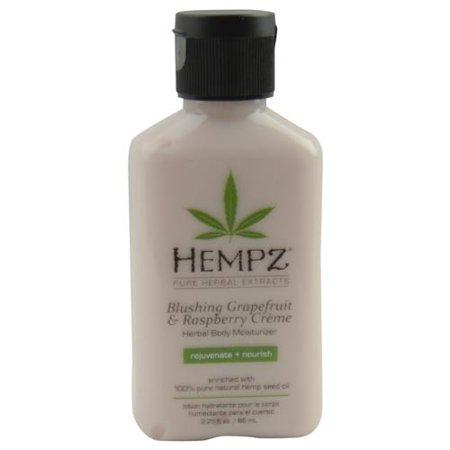 HEMPZ by Hempz HERBAL MOISTURIZER BODY LOTION- BLUSHING GRAPEFRUIT & RASPBERRY CREME 2.25 OZ
