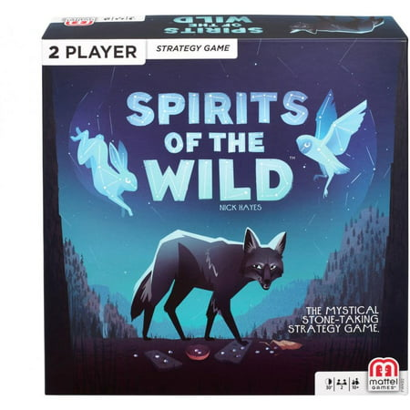 Spirits Of The Wild Strategy Game for 2 Players Ages (Premium Wild Game)