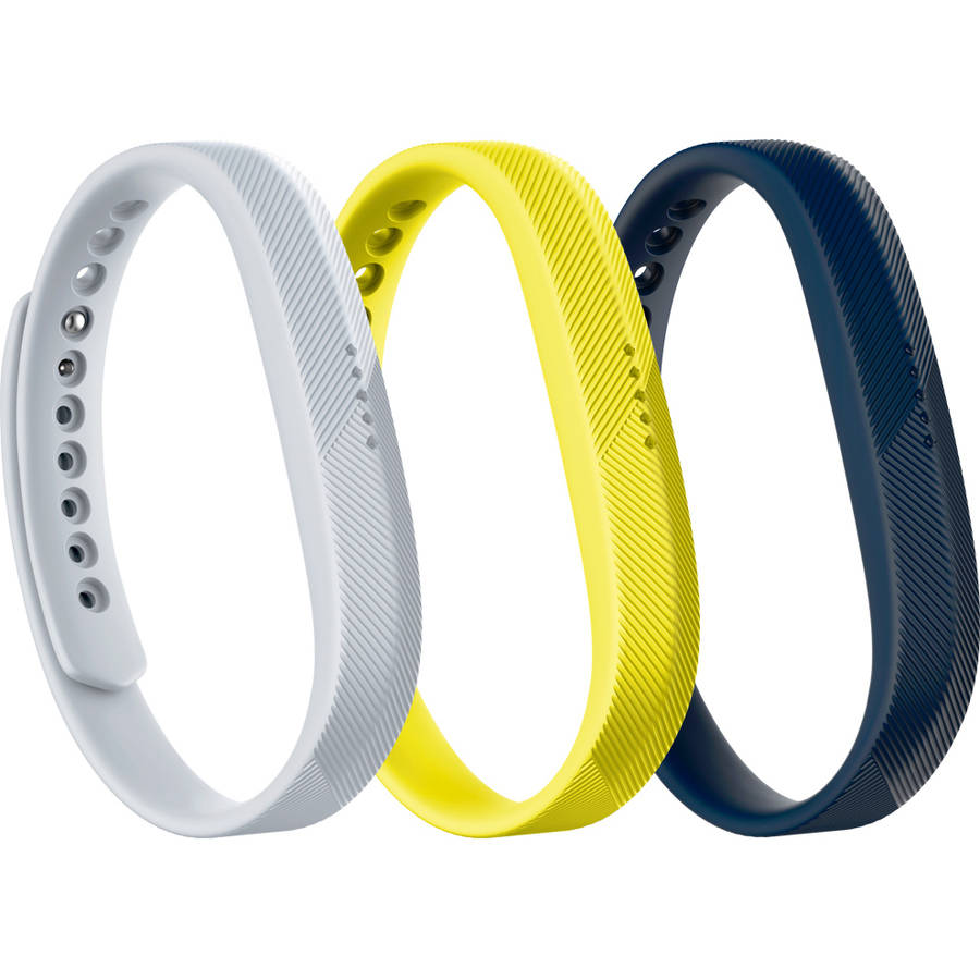 FITBIT FLEX 2, ACC 3-PACK, SPORT, SMALL