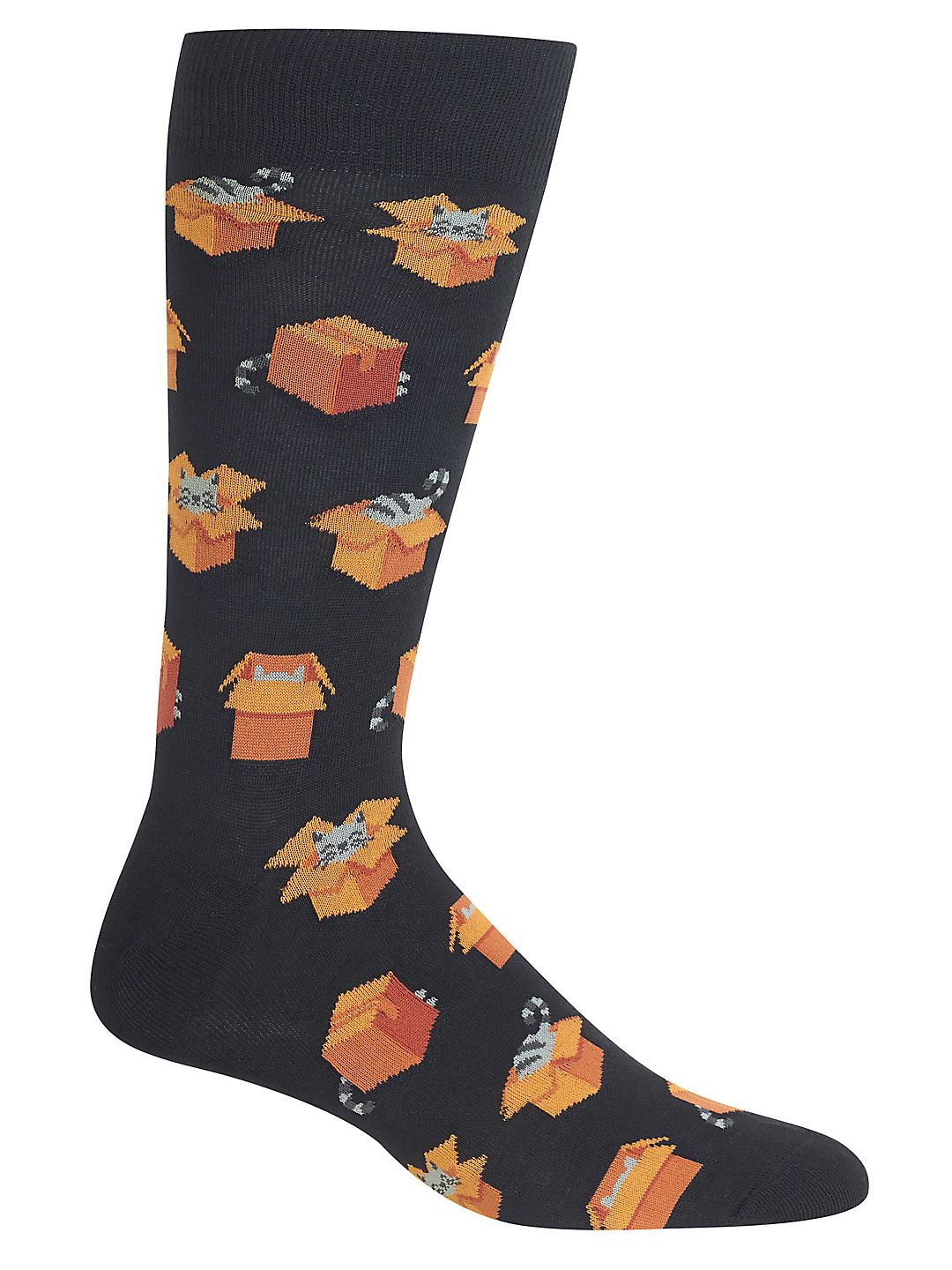 Cats in Boxes Crew Socks