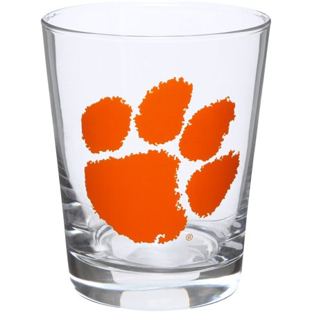 Clemson Tigers 15oz. Double Old Fashioned Glass - No Size