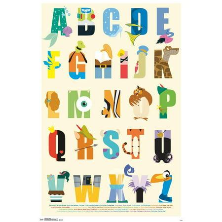 Alphabet Clips (Disney - Alphabet Poster Clip)
