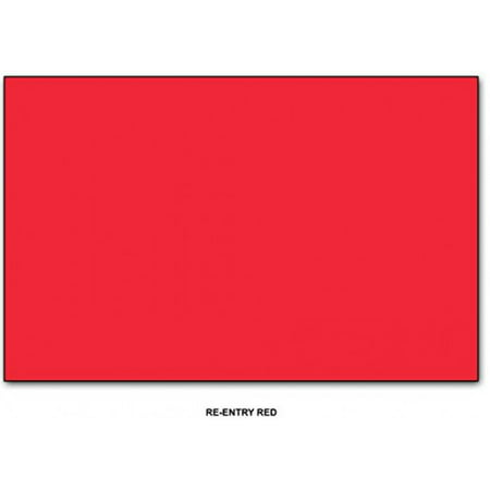 Re-Entry Red - Neenah Astrobrights Premium Color Card Stock, Paper size: 11 x 17-65 Lb Cardstock - 50 Sheets](Red Paper)