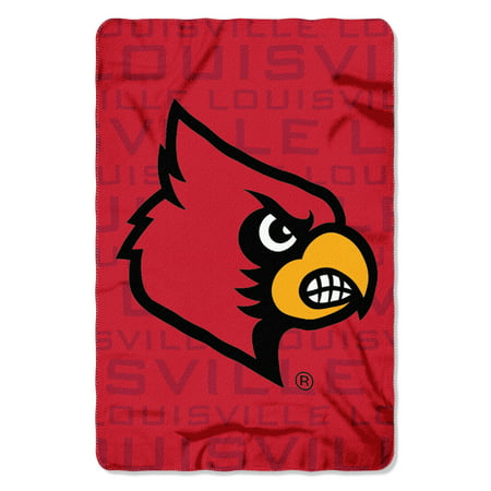"NCAA - Louisville Cardinals , ""Shadow"" 40""x 60"" Fleece Throw"