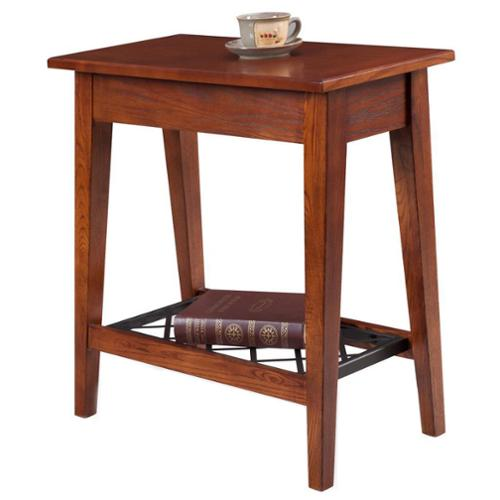 KD Furnishings  Narrow Chairside Table