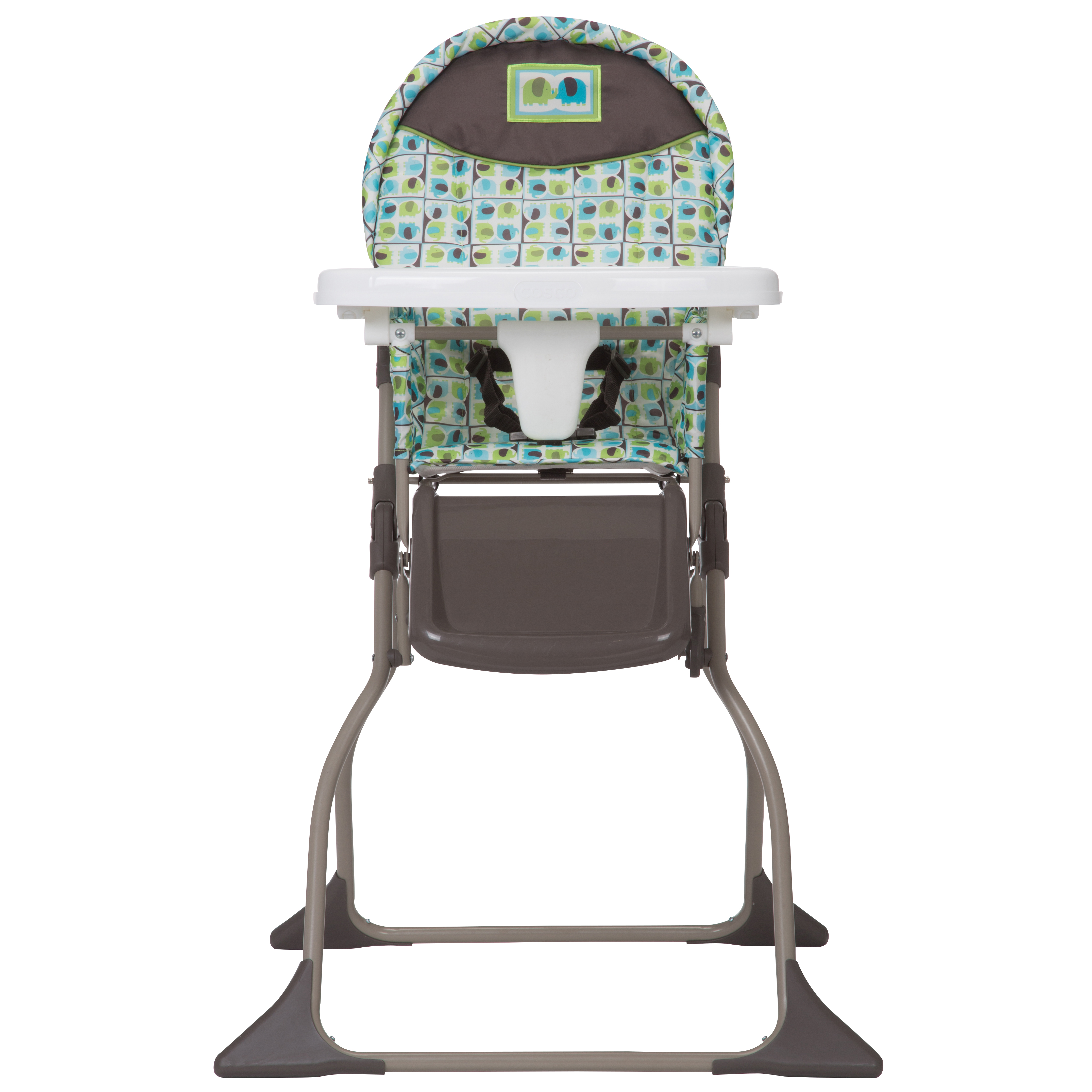 Cosco Simple Fold Full Size High Chair, Etched Arrows by Cosco