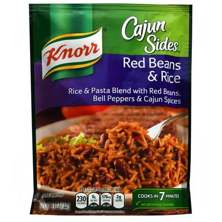Knorr Cajun Sides Red Beans & Rice Rice Side Dish, 5.1 oz - Walmart ...