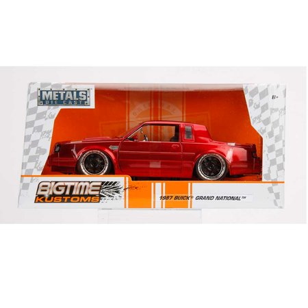 Bigtime Muscle Series: 1987 Buick Grand National (Candy Red) 1/24 Scale