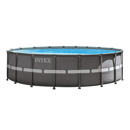 Intex 18 39 X 52 Ultra Frame Swimming Pool Set With 1600 Gph Sand Filter Pump
