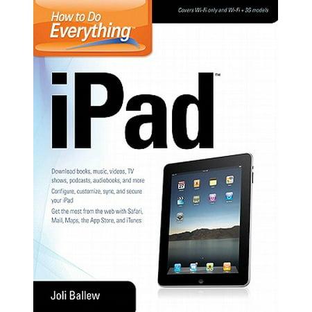 How to Do Everything iPad - eBook (Ipad Books)