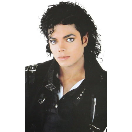 Michael Jackson Adult Curly Wig (Thriller)