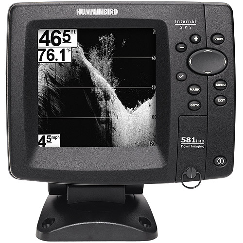 humminbird fishfinder 581i hd di down im - walmart, Fish Finder