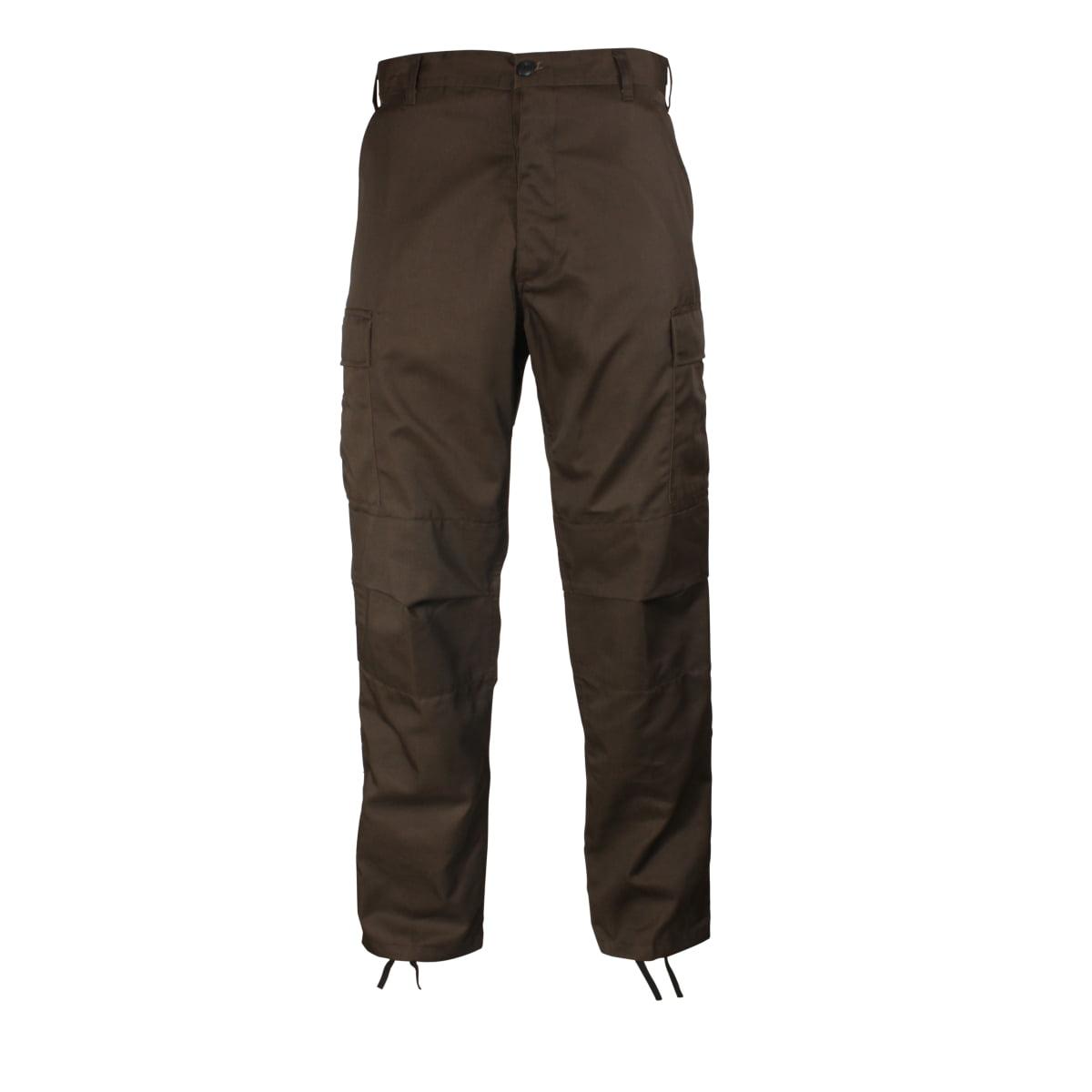 Rothco Brown BDU Pants, Mens Military Fatigues, Army BDUs