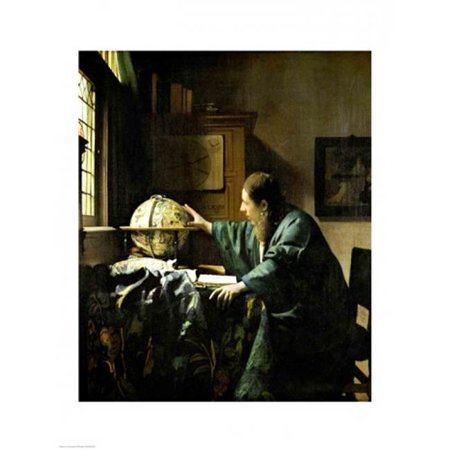 Posterazzi BALXIR267676LARGE The Astronomer 1668 Poster Print by Johannes Vermeer - 24 x 36 in. - Large - image 1 de 1