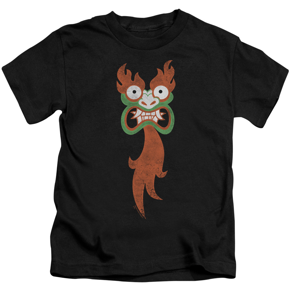 Samurai Jack Aku Face Little Boys Shirt