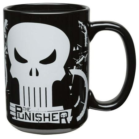 Zak! Designs Marvel Comics 15 Ounce Punisher Coffee Mug 15 Ounce Grande Mug