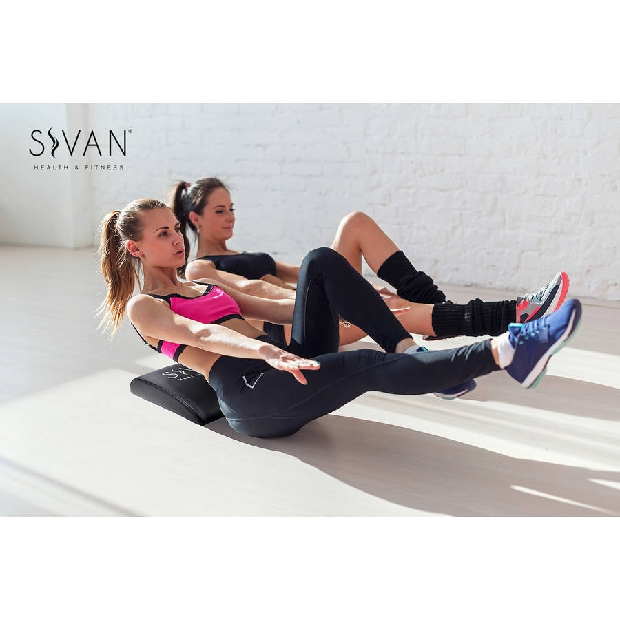 Sivan Health and Fitness Abdominal AB Exercise Mat Core Trainer, High Density