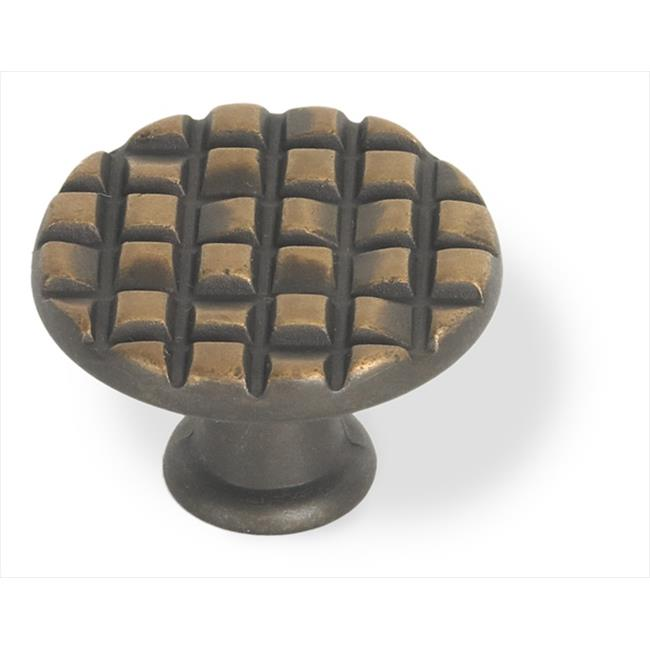 Siro 90-234 Mosaic Collection 30 mm.  Diameter Oil Rubbed Bronze Round Mosaic Knob