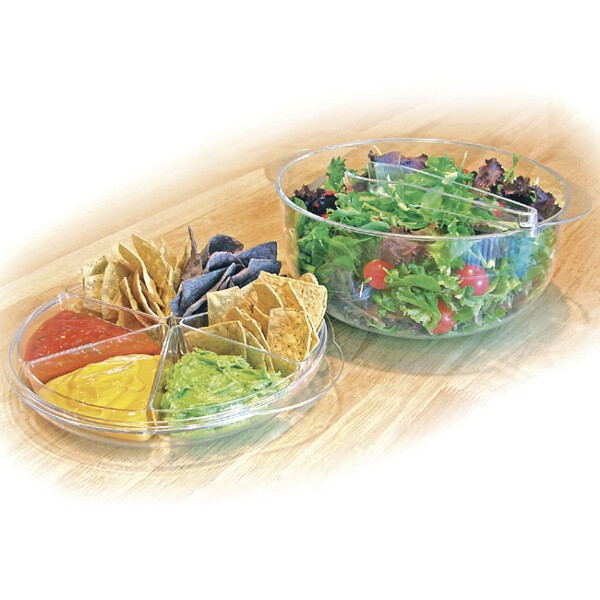 Handy Gourmet 9 Piece Salad and Appetizer Set