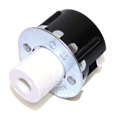 - General 00151 - LH0151 Slimline Single Pin Button Snap-In Fluorescent Lampholder (Leviton #516) Plunger End (LH0151 (LEVITON #516))