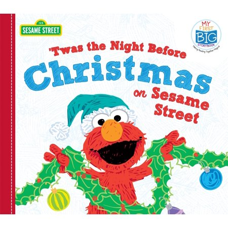 - 'twas the Night Before Christmas on Sesame Street (Board Book)