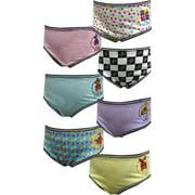 Five Nights at Freddy's Girls Underwear, 7 Pack Brief Style Panties (Little Girls & Big Girls)