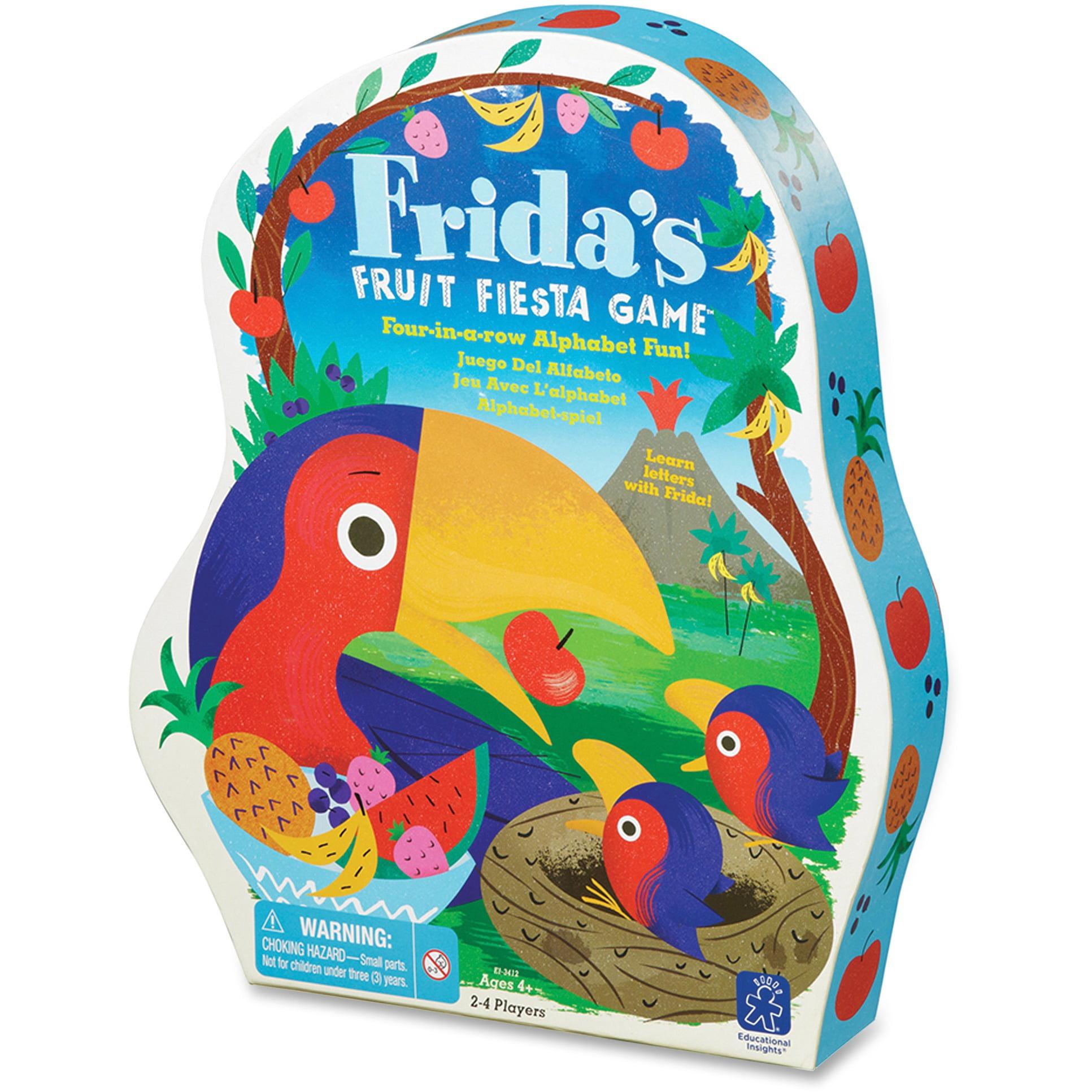Educational Insights, EII3412, Frida's Fruit Fiesta Alphabt Game, 1 Each, Assorted
