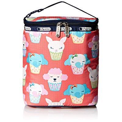 lesportsac multi bottle handbag, baby cakes, one size