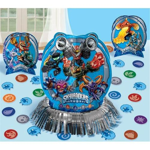 Amscan 281328 Skylanders Table Decorating Kit - Pack of 6