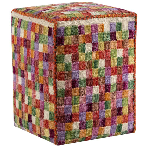 Hokku Designs Small Box Pouf