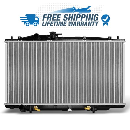 Fits Lifetime Warranty Aluminum Radiator 2571 For 2003-2007 Honda Accord 3.0L V6