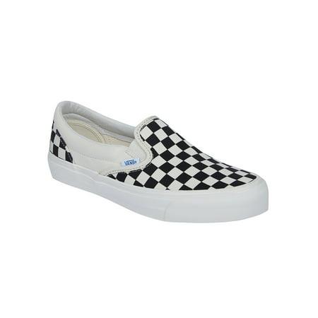 vans vault og classic slip on lx black white checkerboard restock