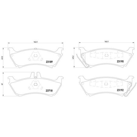 Go-Parts OE Replacement for 1999-1999 Mercedes-Benz ML430