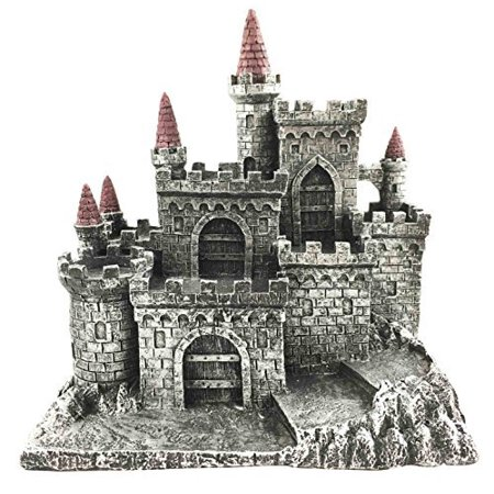 Medieval Middle Ages Castle Fortress For Miniature Display Stand Figurine Statue - Medieval Castle Decorations