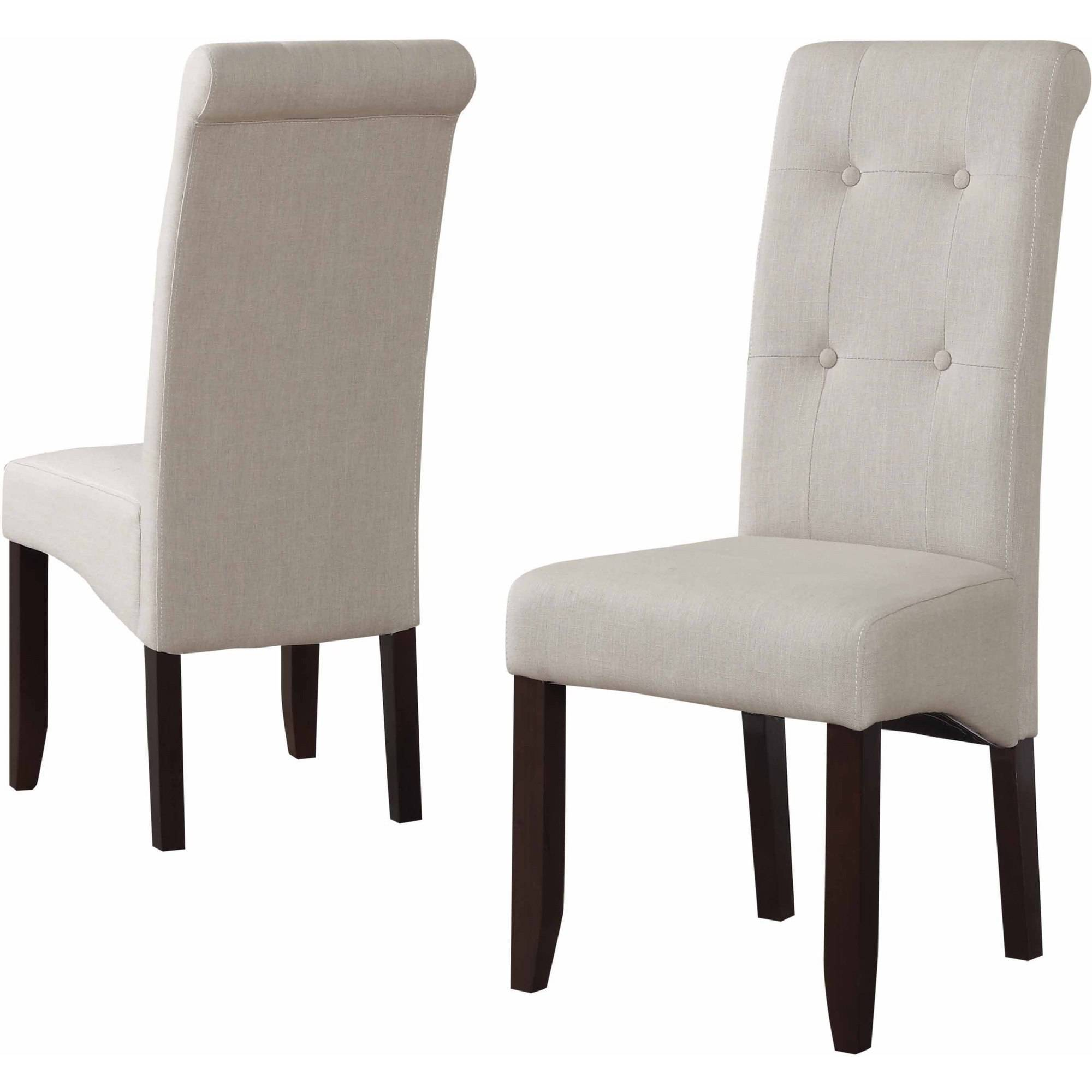 Brooklyn + Max City Deluxe Tufted Parson Chairs, Set of 2