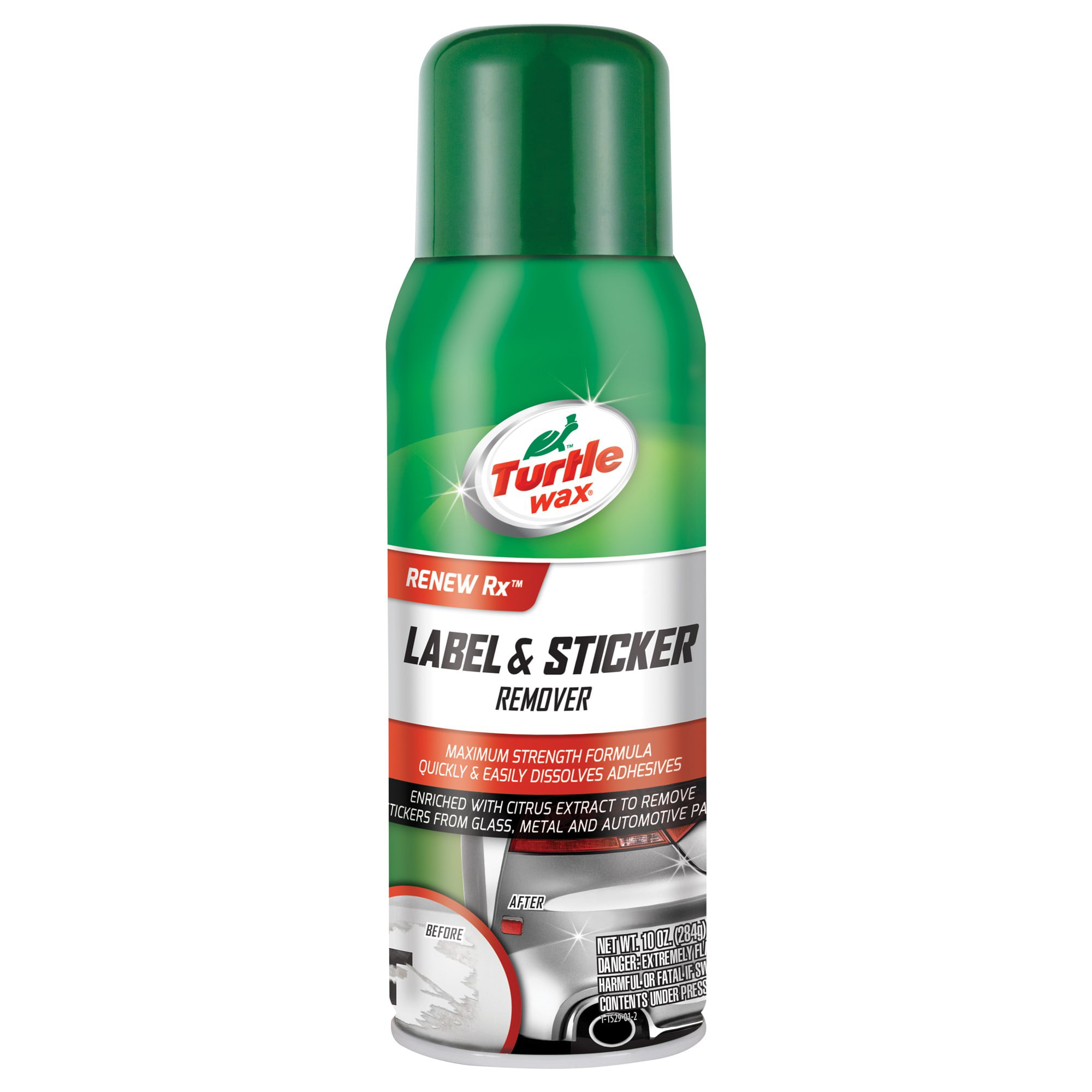 Turtle Wax Multi-Purpose Label And Sticker Remover